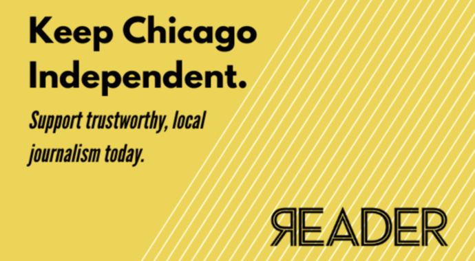 Donate to the Chicago Reader