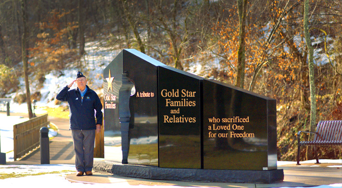 Springfield IL Gold Star Families Memorial Monument